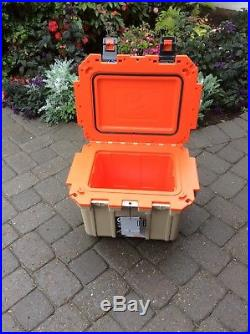 Pelican Elite 30 Quart Cooler Tan/Orange New in Box
