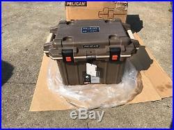 Pelican Elite 50 Quart Dark Brown Cooler