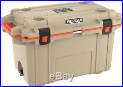 Pelican Elite Cooler, 70 Qt, Tan/Orange MAKE OFFER