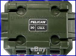 Pelican Elite Cooler Green/Tan 30 Quart