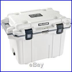 Pelican Elite Coolers 50Q-1-WHTGRY