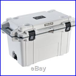 Pelican Elite Coolers 70Q-1-WHTGRY