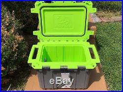 Pelican Gray/Green Elite 50 50Q-1-DKGRYEGRN Cooler