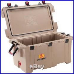 Pelican ProGear 150QT Elite Tan Cooler Camping Fishing Marine Industrial