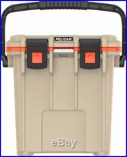 Pelican ProGear 20QT IM Elite Cooler (Tan/Orange)