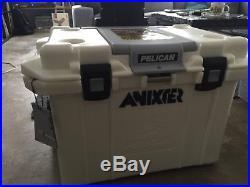Pelican ProGear 55QT Elite Wheeled Cooler, Marine White