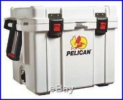Pelican ProGear Deluxe Cooler & Elite Marine Ice Chest Series 35QT White