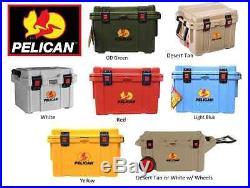 Pelican ProGear Deluxe Cooler & Ice Chest Series 20QT 35QT 45QT 65QT 80QT COLORS