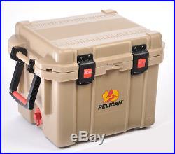 Pelican ProGear Elite Deluxe Cooler 35 Tan 35QT Ice Chest Series 35Q-MC-Tan