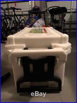 Pelican ProGear Wheeled Elite Cooler 80 Quart Tan ATV UTV Off road