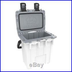 Pelican Products 20Q-1-WHTGRY 20 Quart Elite Cooler, White/Grey