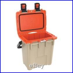 Pelican Products 20Q-2-TANORG 20 Quart Elite Cooler, Tan/Orange