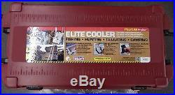 Pelican Products ProGear Elite Cooler 95 Quart Maroon Ice Chest Made in USA