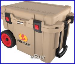 Pelican Progear Wheeled Elite Ice Chest Coolers 45 Quart