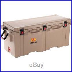 Pelican XXL 250 quart qt Progear Elite Tan Marine Camping Party Cooler Ice Chest