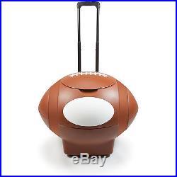 Picnic Time 55 Qt. Football Rolling Cooler