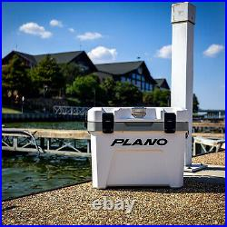 Plano Frost 14 Quart Heavy Duty Cooler with Built In Bottle Opener and Dry Basket
