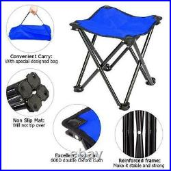 Portable Picnic Beer Cooler Table+ 2 Chairs Set Beach Camping Set