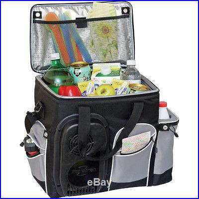 Portable Soft-Sided 26 Qt. Electric Cooler, 12-Volt Car, RV, Boat Travel Fridge