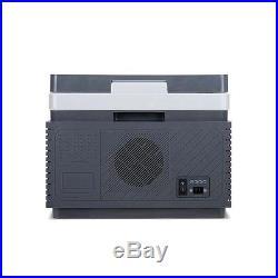 Portable Travel Cooler/Warmer Car Mini Refrigerator Outdoor Fridge 12L 12V Grey
