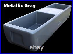 REVO Party Barge Beverage Tub Metallic Gray FREE Shipping Made in USA