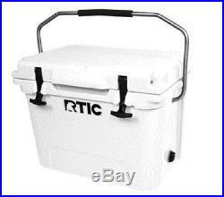 RTIC Cooler 20 White Beer Storage Fishing Boating Heavy Duty Yeti New