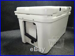 RTIC White 45QT Rormolded Construction Cooler 26-1/2x15-7/8x16-1/2