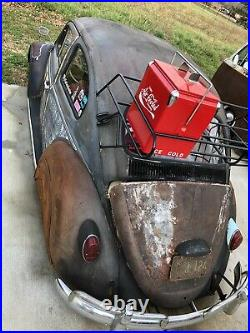 Retro Metal Cooler Enjoy Aircooled Coca Cola Vintage VW Volkswagen