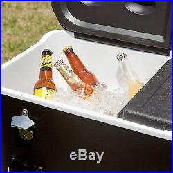 Rio Midnight Sands 77 qt. Entertainer Rolling Party Cooler