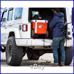 RovR RollR Portable Rolling Insulated Cooler with Wheels 60 Qt, Powder (For Parts)