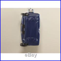 Rubbermaid 45 Qt Blue Wheeles Cooler Outdoor Camping Ice Drink Box Chest Coolers