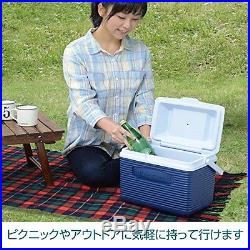 Rubbermaid Cooler / Ice Chest, 10-quart, Blue New