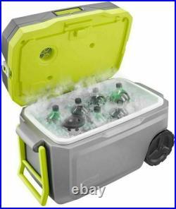 Ryobi 18V One+ 50qt. Wheeled Cordless Cooling Cooler