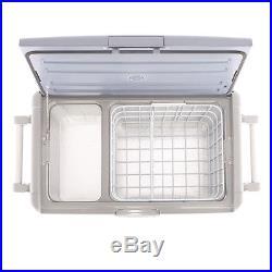 SMAD 50L 12V 24V Portable Cooler Compressor Car Refrigerator Electric Freezer
