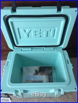 Seafoam green Yeti Roadie 20. Brand New rare