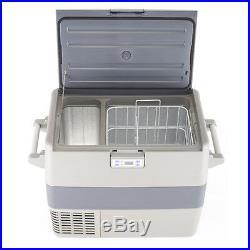 Smad 45 QT DC12V 24V Truck Refrigerator Freezer Camper Travel Boat Outdoor