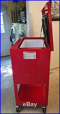 snap on beer soda ice chest cooler tool cart