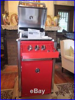 Snap-On EPIQ Red Grill/Smoker Propane Combo Single Bank withAccs. & Cover New
