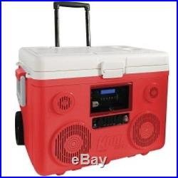 Sondpex CA-E065R KoolMax Bluetooth Cooler Audio Red