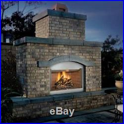 Stainless Steel 36 fireplace insert