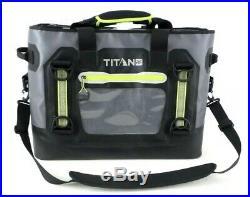 Titan RF Welded 35 Qt Heavy Duty Soft Sided Waterproof Super Cooler 24 New