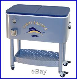 Tommy Bahama Rolling Entertainment Cooler