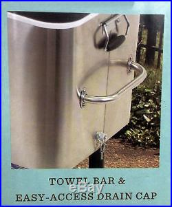 Tommy Bahama Stainless Patio Cooler Ice Chest Tommy Bahama Cooler 100 Quart