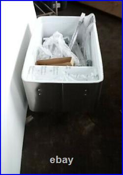 Unused Stainless Steel Cooler / Ice Chest on Stand / Wheels, Approx. 118 Quarts