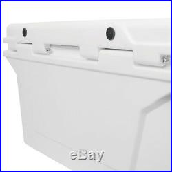 Uriah Products Valley Sportsman 45 Prime Roto Molded Cooler with Handle, White