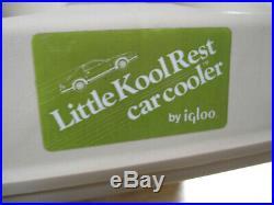 VTG Igloo Armrest Little Kool Rest Car Cooler Ice Chest Console Cup Holder 1986