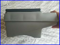 VTG Little Kool Rest Car Cooler Igloo Grey Navy Console Ice Chest Cup Holder EC