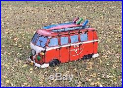 Vw Bus Kombi Surfer Cooler Handcrafted From Recycled Materials Awesome