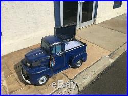 Vintage Ford Truck Cooler, cooler, vintage, ice chest, oil can art