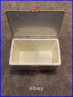 Vintage Hamilton Skotch Cold Flyte Aluminum Ice Chest Cooler